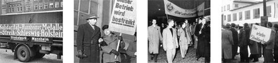 Bilder aus der Geschichte der Gewerkschaften